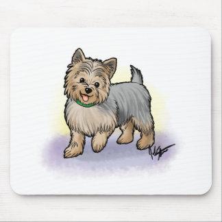 Cojín de ratón de Yorkshire Terrier