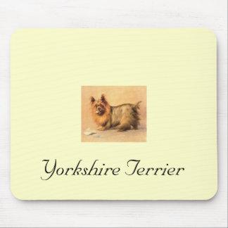 Cojín de ratón de Yorkshire Terrier Alfombrilla De Ratón