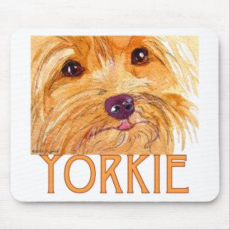 Cojín de ratón de Yorkshire Terrier Tapete De Ratón
