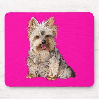 Cojín de ratón de Yorkshire Terrier Yorkie Alfombrilla De Raton