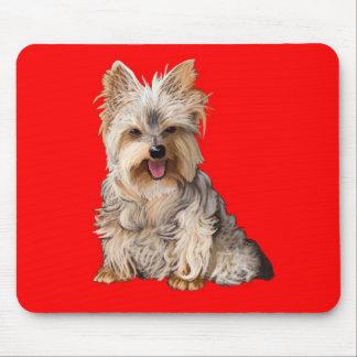Cojín de ratón de Yorkshire Terrier Yorkie Alfombrillas De Raton