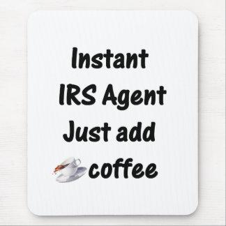 Cojín de ratón del agente de IRS Alfombrilla De Ratones