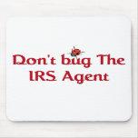 Cojín de ratón del agente de IRS Tapetes De Raton