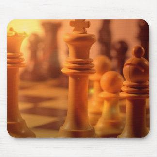 Cojín de ratón del ajedrez del juego tapete de raton