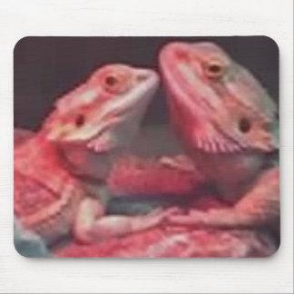 Cojín de ratón del amor del dragón alfombrilla de raton