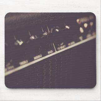 Cojín de ratón del amperio de la guitarra tapete de raton