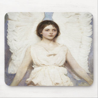 Cojín de ratón del ángel de Abbott Handerson Thaye Alfombrillas De Ratón