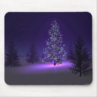 Cojín de ratón del árbol de navidad mouse pads