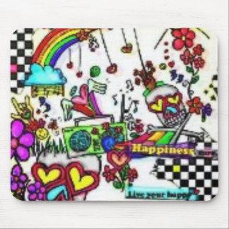 Cojín de ratón del arco iris alfombrillas de ratón