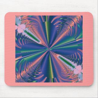 cojín de ratón del arte del fractal tapetes de raton