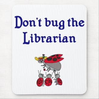 Cojín de ratón del bibliotecario tapete de ratón