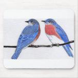 Cojín de ratón del Bluebird Alfombrilla De Raton