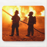 Cojín de ratón del bombero tapete de raton