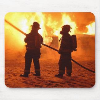 Cojín de ratón del bombero tapetes de ratón