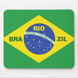 Cojín de ratón del Brasil Alfombrilla De Ratones