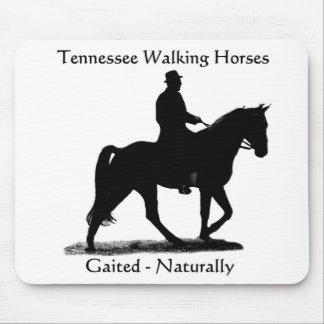 Cojín de ratón del caballo de Tennessee que camina Alfombrillas De Ratón