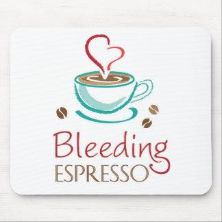 Cojín de ratón del café express de la sangría mouse pad