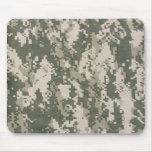 Cojín de ratón del camuflaje del ejército de Digit Alfombrilla De Raton