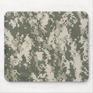 Cojín de ratón del camuflaje del ejército de Digit Alfombrillas De Raton