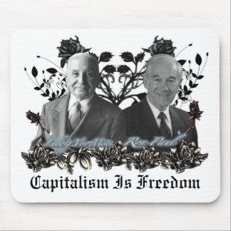 Cojín de ratón del capitalismo/de la libertad (Ron Mouse Pads
