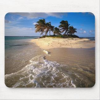 Cojín de ratón del Caribe de la playa Tapete De Ratón