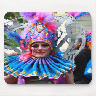 Cojín de ratón del carnaval de NottingHill Alfombrillas De Raton
