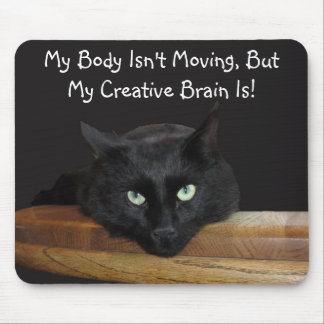 Cojín de ratón del cerebro creativo del guardabo alfombrilla de ratones