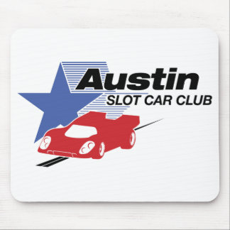 Cojín de ratón del club del coche de ranura de Aus Mousepad