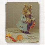 Cojín de ratón del cocinero del ratón alfombrillas de ratones