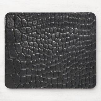Cojín de ratón del cocodrilo del negro de la ROCA Mousepads