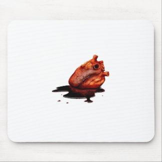 Cojín de ratón del corazón sangrante alfombrilla de raton