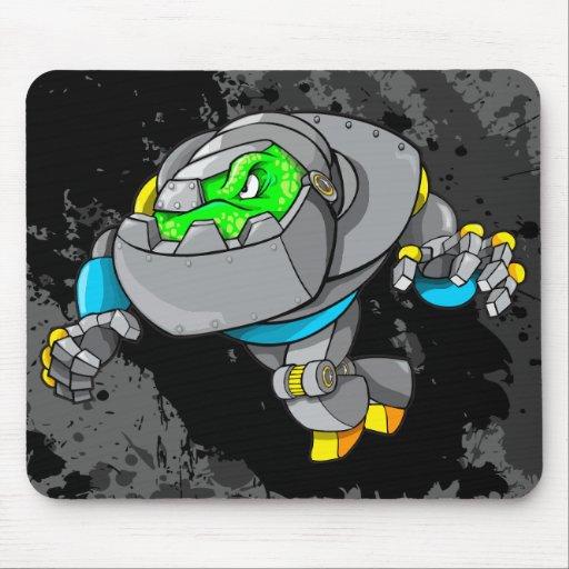 Cojín de ratón del Cyborg del robot Alfombrillas De Raton