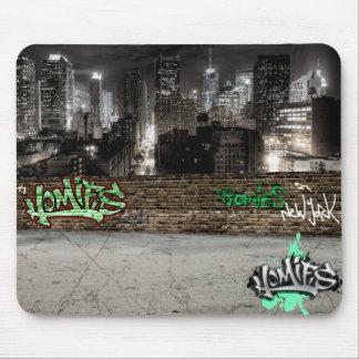 Cojín de ratón del ® de Homies Nueva York Alfombrilla De Ratón