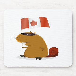 Cojín de ratón del día de Canadá Tapetes De Ratones