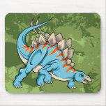 Cojín de ratón del dinosaurio del Stegosaurus Alfombrilla De Raton