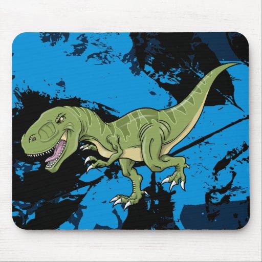 Cojín de ratón   del dinosaurio del Tyrannosaurus Alfombrilla De Ratones
