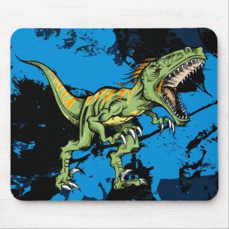 Cojín de ratón del dinosaurio del Velociraptor del Tapete De Ratón