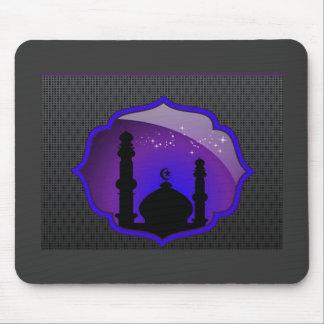 Cojín de ratón del diseño de la mezquita tapete de ratones