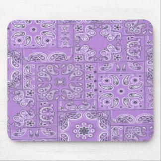 Cojín de ratón del diseño del pañuelo de Paisley L Alfombrillas De Ratones