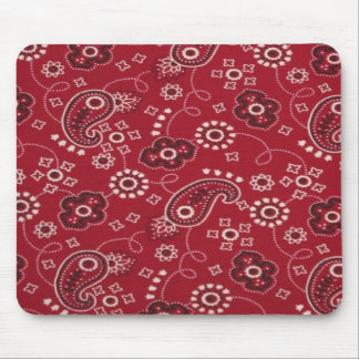 Cojín de ratón del diseño del pañuelo de Paisley Tapete De Ratón