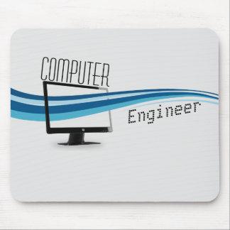 Cojín de ratón del diseño moderno del ingeniero in tapetes de raton