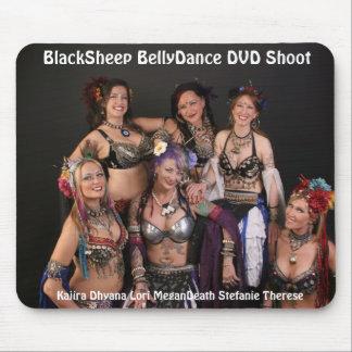 Cojín de ratón del DVD de BlackSheep BellyDance Mouse Pads