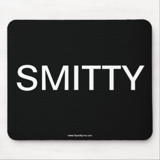 """Cojín de ratón del """"efectivo"""" de SMITTY Alfombrillas De Ratón"""