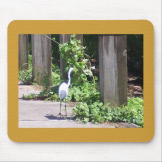 Cojín de ratón del Egret Mouse Pad