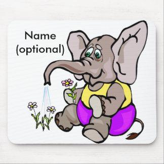 Cojín de ratón del elefante mouse pad