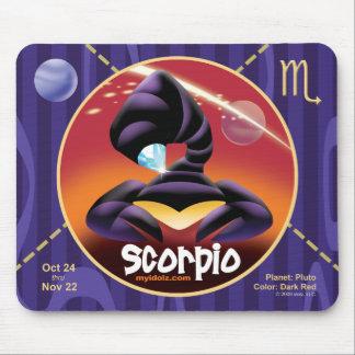 Cojín de ratón del escorpión de Idolz 01 Alfombrilla De Raton