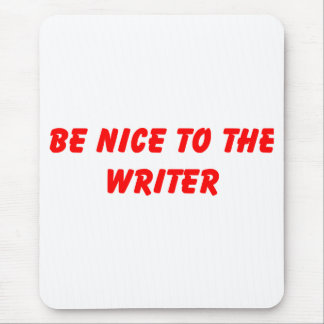 Cojín de ratón del escritor mousepad