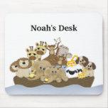Cojín de ratón del escritorio de la arca de Noah Mouse Pad