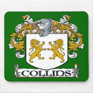 Cojín de ratón del escudo de armas de Collins Mousepad