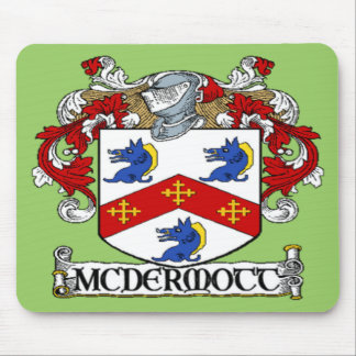 Cojín de ratón del escudo de armas de McDermott Alfombrilla De Ratón